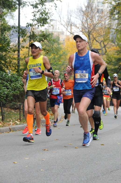 "As Chamberlain reached the south end of Central Park, the noise went from deafening silence to a deafening roar from the crowd. ""I couldn't believe I was there,"" he said. ""Their cheers echoed off the buildings. They really did carry runners to the finish, I wanted to keep running as soon as I saw the buildings and heard them. Usually, the last 3 miles are tough but those 3 miles were fantastic and I've won races."""