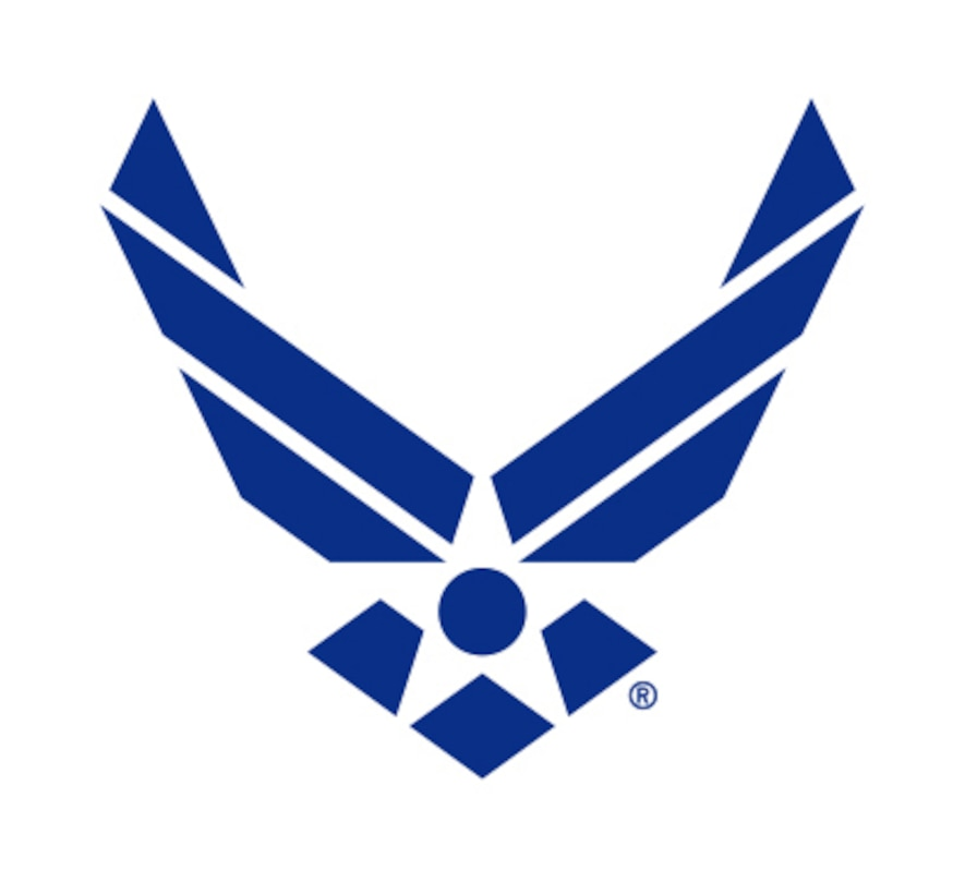 "The Air Force Symbol is a registered trademark. Use of this logo by any non-Federal entity must receive permission from the Air Force Branding and Trademark Licensing Office at licensing@us.af.mil. Non-Federal entities wishing to use the Air Force Symbol should reference the DoD Guide on the use of Government marks. The link to the guide can be found at http://www.defense.gov/Media/Trademarks. Those with a valid CAC may download high-resolution versions of the Symbol from the Air Force Portal. The link to the graphics is located under the ""Library and Resources"" tab. Guidance on the proper use and display of the Symbol can be found in AFI35-114."