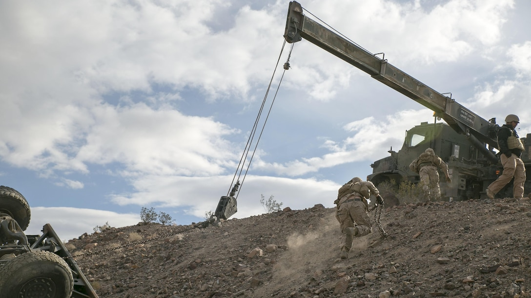 CLB-2 takes on live-fire vehicle recovery during ITX 1-16