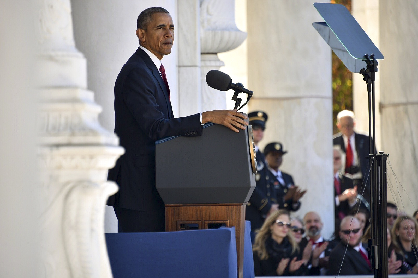 Obama Stresses Country's Debt to Veterans > U S  DEPARTMENT OF