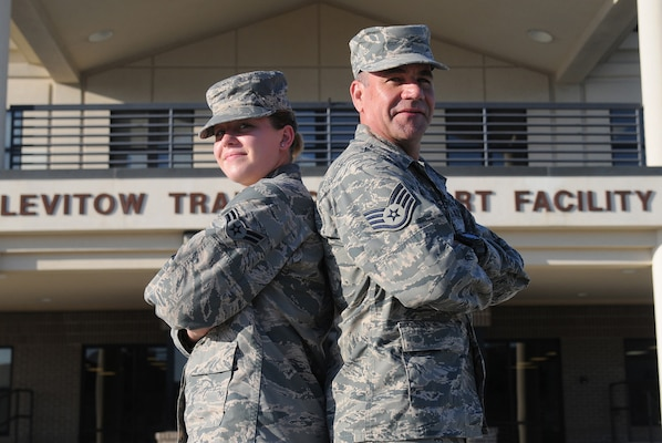 Face of Defense: Father, Daughter Make Tech School a Family Project