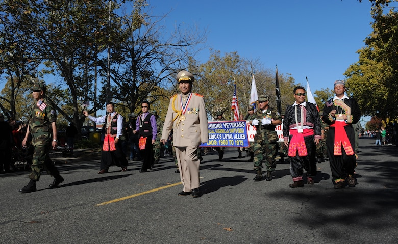 Yuba/Sutter Veterans Day Parade in Marysville, California, Nov. 11, 2015. Veterans Day is celebrated throughout the U.S. to honor those who have served and are serving in the Armed Forces. (U.S. Air Force photo by Staff Sgt. Robert M. Trujillo/Released)