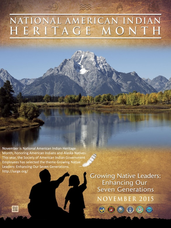 National American Indian Heritage Month poster