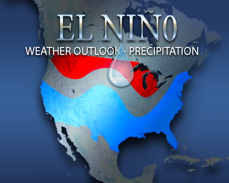 El Niño is a warm temperature anomaly pattern primarily located across the equatorial Pacific Ocean. The entire cycle known as the El Niño Southern Oscillation encompasses the sea surface temperature and deeper thermocline anomalies alongside an atmospheric pressure pattern. The ENSO cycle causes global changes of both temperatures and rainfall.