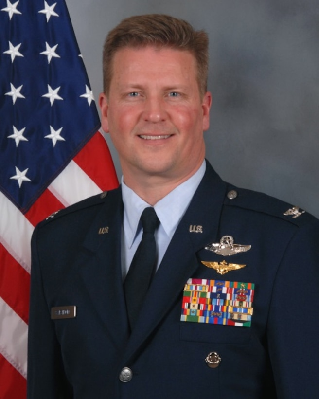 Col. Jon S. Safstrom, 148th Fighter Wing Commander