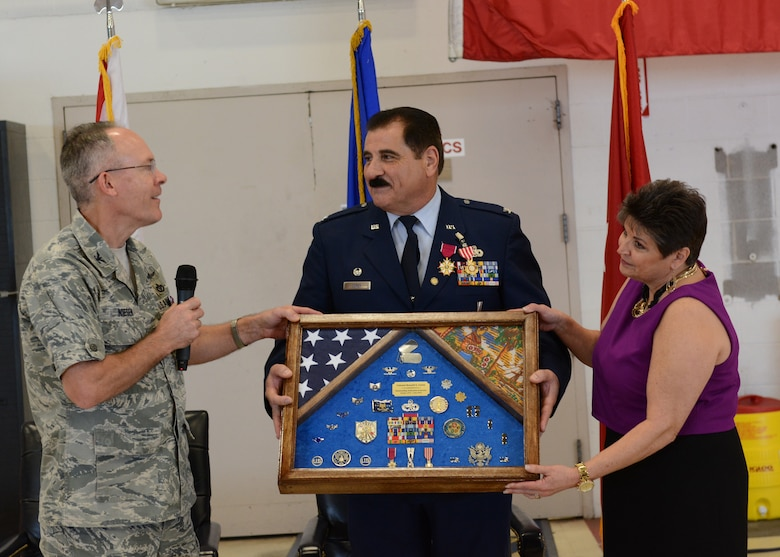Colonel Ron Corey retired from the Florida Air National Guard after 39 years of service on November 15, 2015.