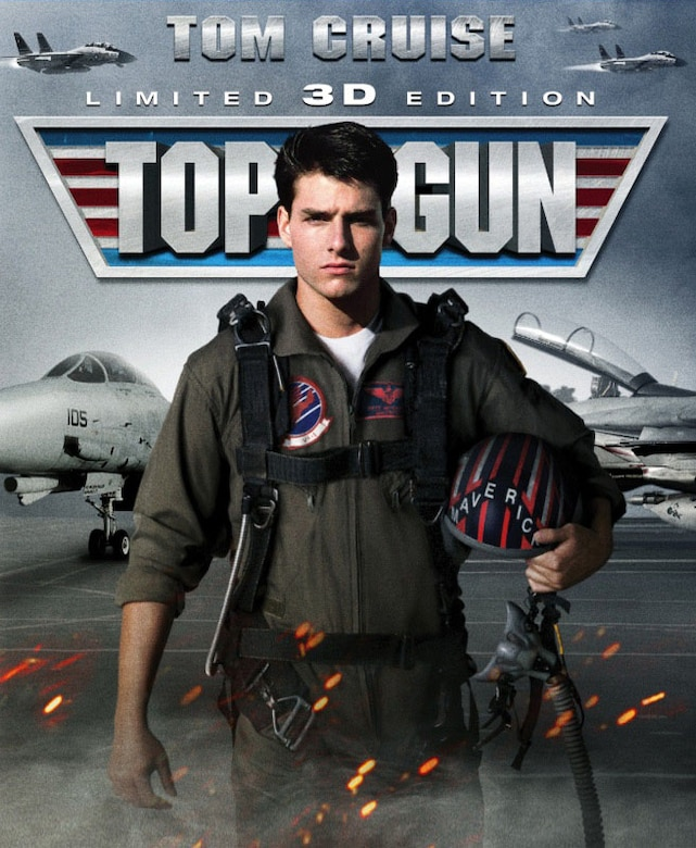 "The Air Force Museum Theatre will show ""Top Gun 3D"" at 4 p.m. on Nov. 22, 2015, as part of its Hollywood Series, sponsored by Cassano's Pizza King."