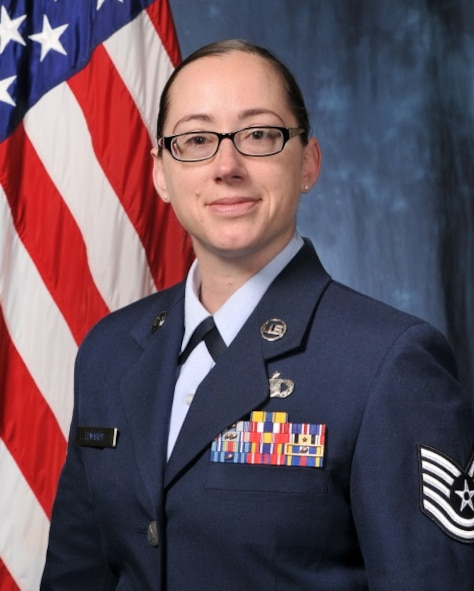 Tech. Sgt. Misty Edwards is a chaplain assistant at the U.S. Air Force Academy. (U.S. Air Force photo)