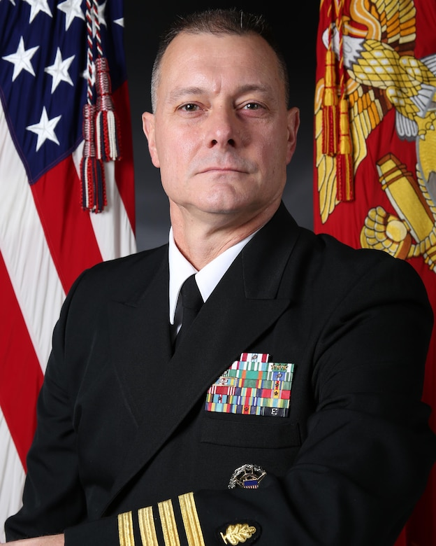 CAPT. Brian G. Tolbert, 2nd Medical Battalion commanding officer