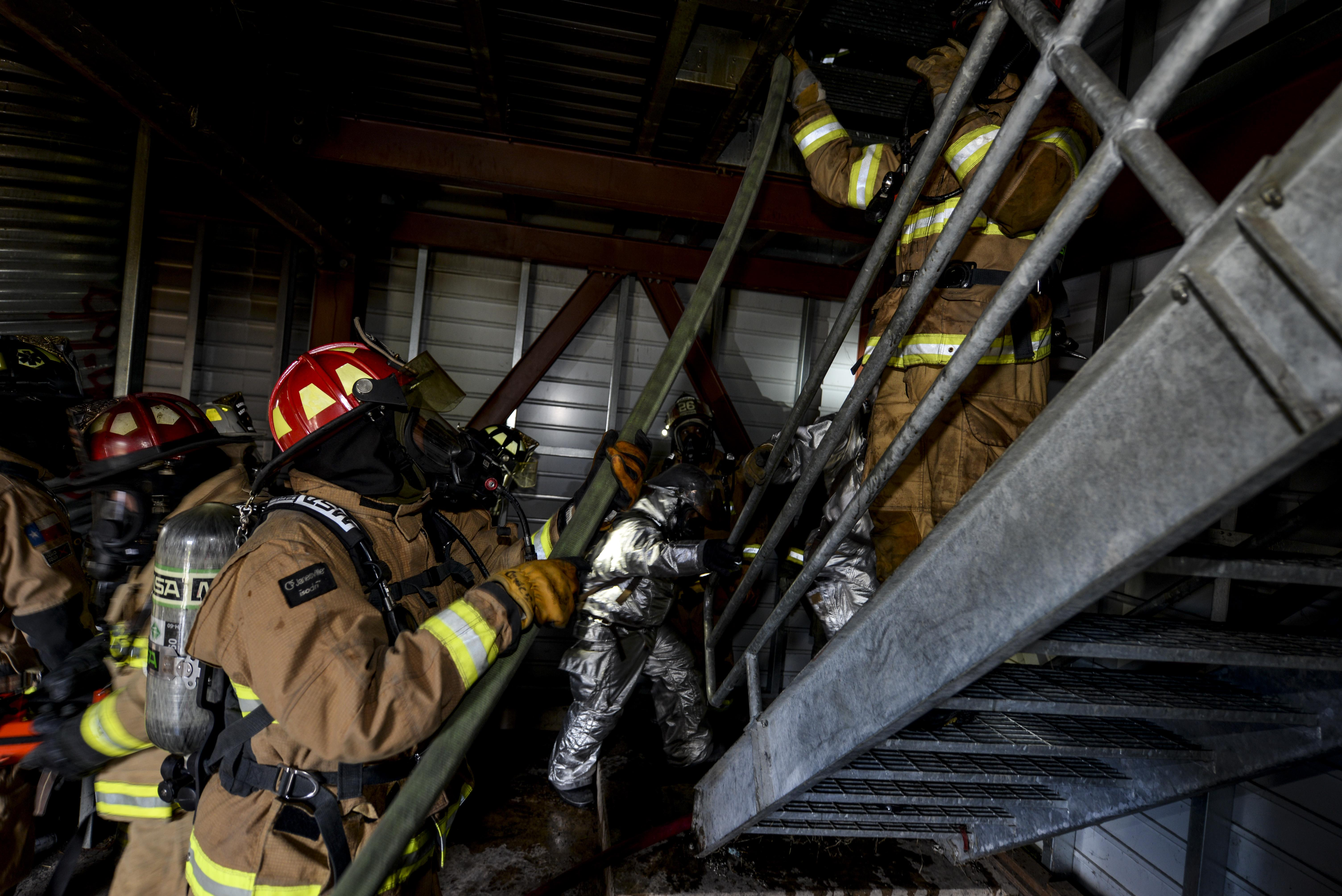 JBSA, Bexar County firefighters build joint knowledge base