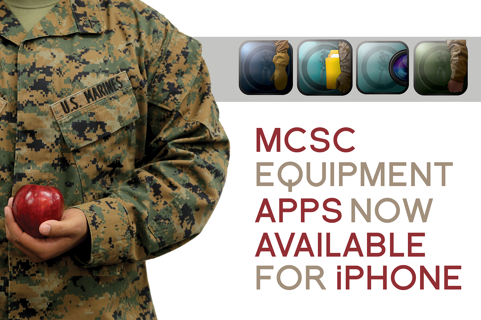MCSC equipment apps now available for iPhone > Marine Corps