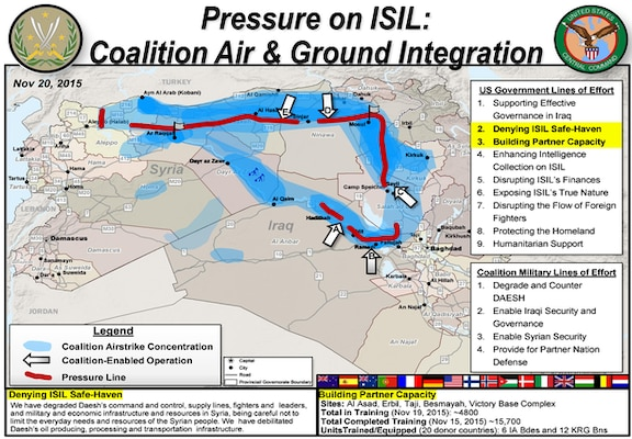 Operation inherent resolve airstrikes proving effective in iraq graphic illustrating how coalition air support is enabling indigenous ground forces to pressure the islamic publicscrutiny Gallery