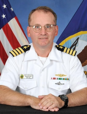 CAPT Jeffrey Heydon, USN