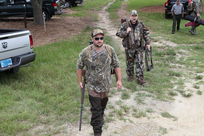 The Charleston District hosted the inaugural Wounded Warrior Dove Hunt at the Cooper River Rediversion Project where five of our nation's heroes gathered for a day of fellowship and to test their hunting skills. This event was the second Wounded Warrior event hosted by the Charleston District this year as part of our mission to provide high-quality experiences for our nation's heroes.