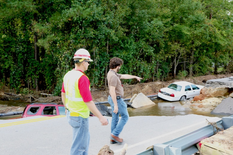 South Carolina saw historic amounts of rain in October, which caused a flooding event like had never been seen before. The Charleston District was tasked to respond by inspecting 682 dams throughout the state in two weeks, among other projects.