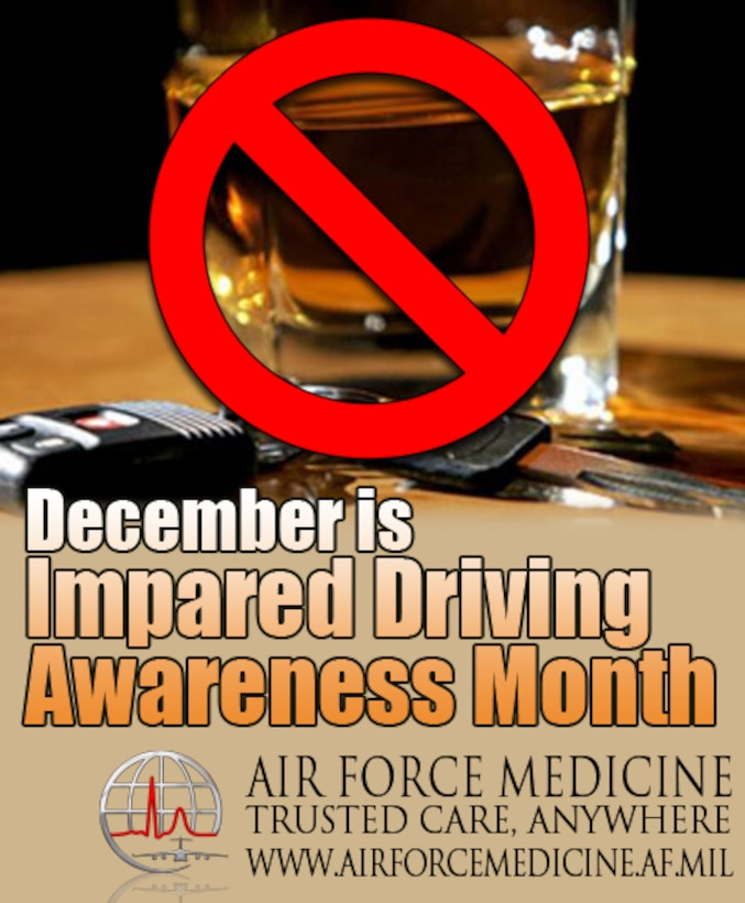 Impaired Driving Awareness graphic 2015 (Air Force Graphic)