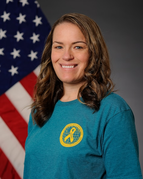 U.S. Air Force Master Sgt. Keri Frandsen, the 354th Aircraft Maintenance Squadron armament flight chief, also serves as a Victim Advocate for Eielson Air Force Base, Alaska. Victim Advocates are available throughout the wing to provide support to a victim after a sexual assault. (U.S. Air Force photo by Airman 1st Class Cassandra Whitman/Released)