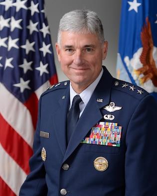 Lt. Gen. Samuel D. Cox Commander, 18th Air Force