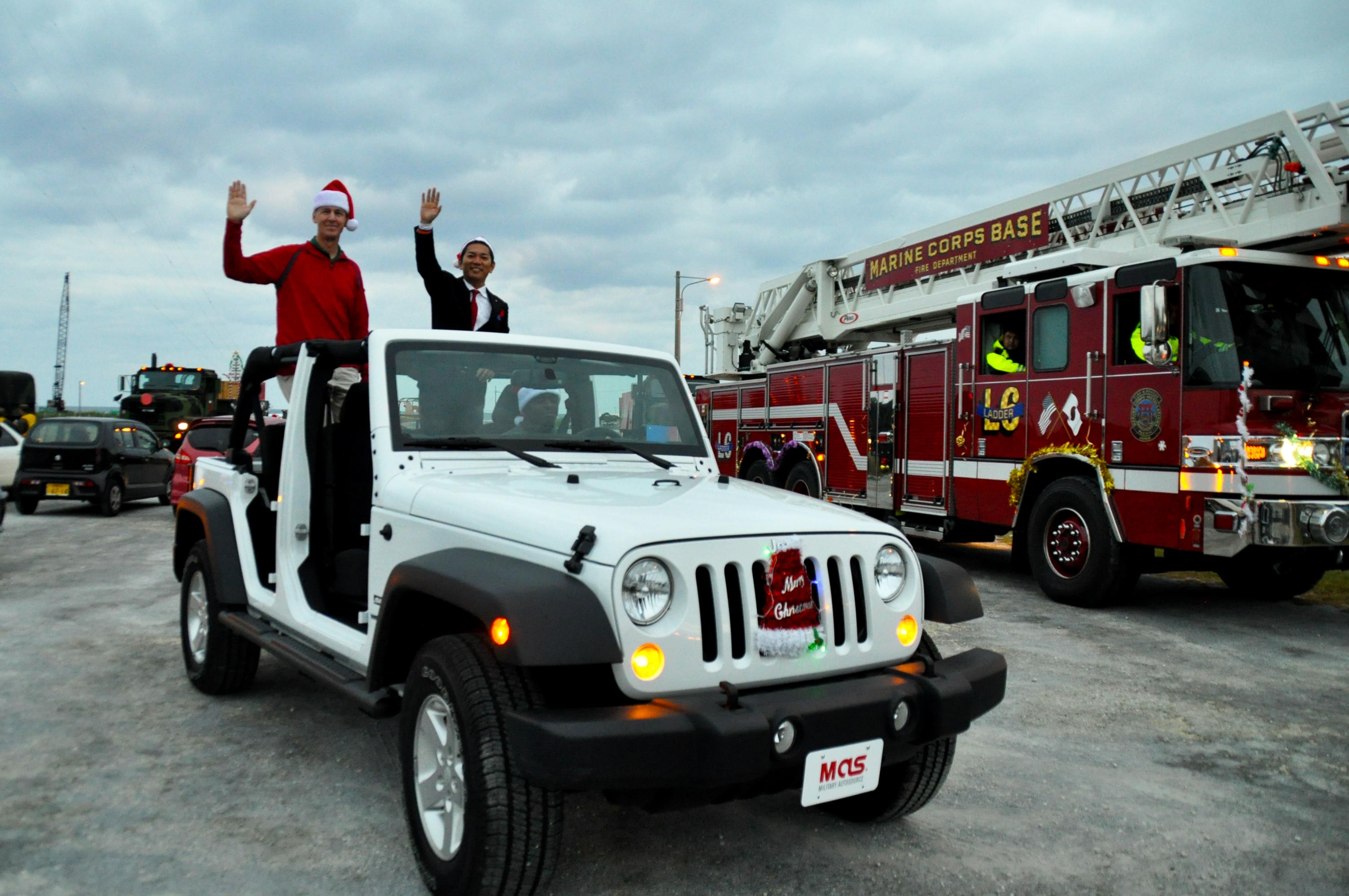 Marine Corps Installations Pacific Brings Holiday Spirit to Okinawa