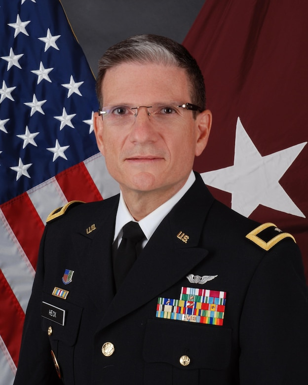 Brig. Gen. Joseph Heck, Deputy Commanding General, 3rd Medical Command Deployment Support, command photo