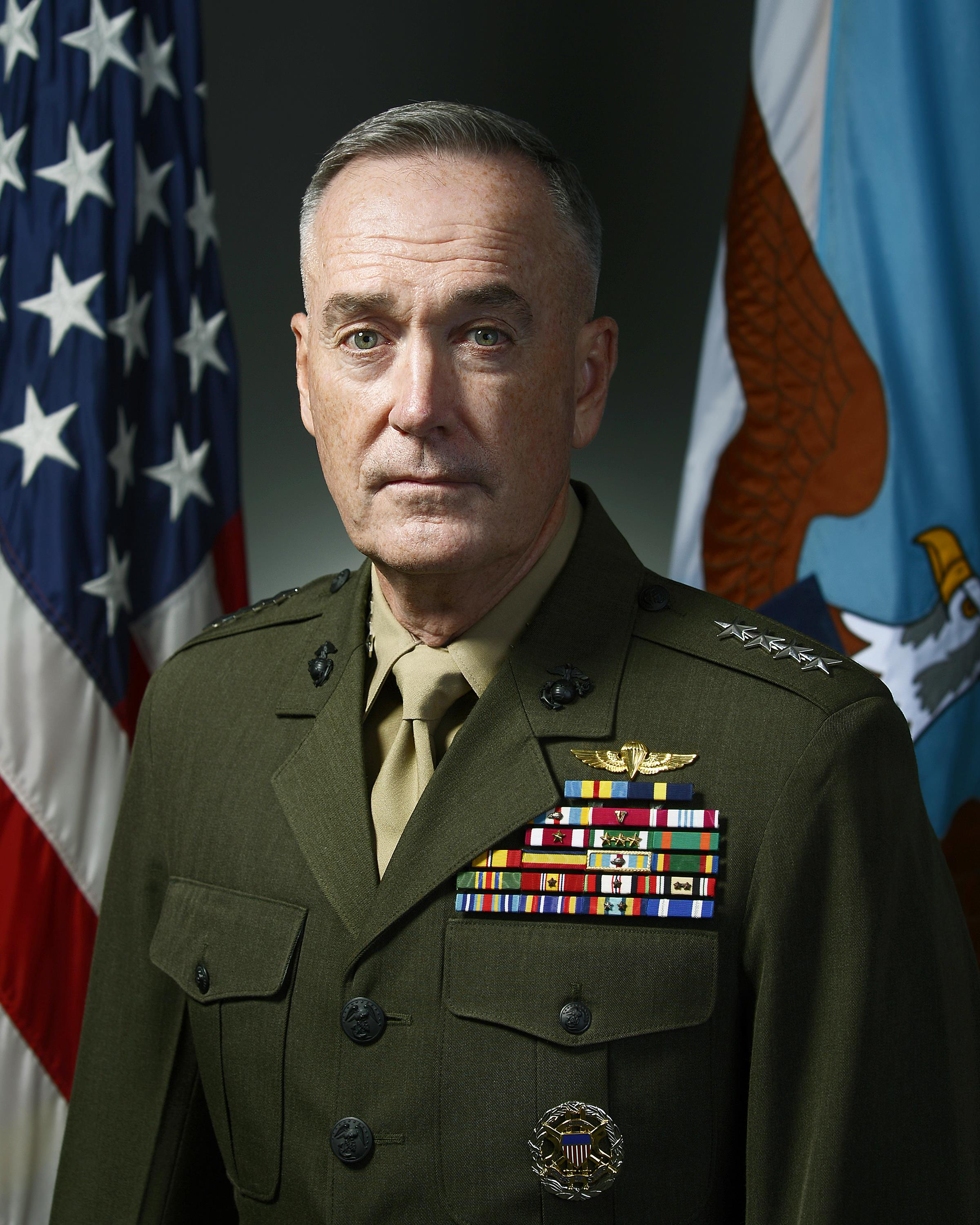 Biographies: General Joseph F. Dunford, Jr. > U.S. DEPARTMENT OF