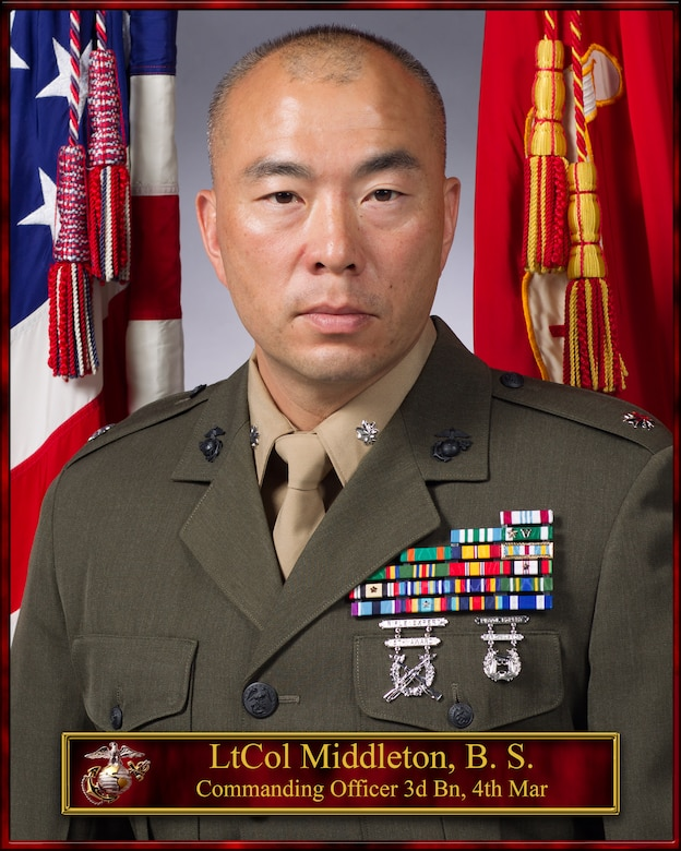 Commanding Officer, 3rd Battalion, 4th Marines