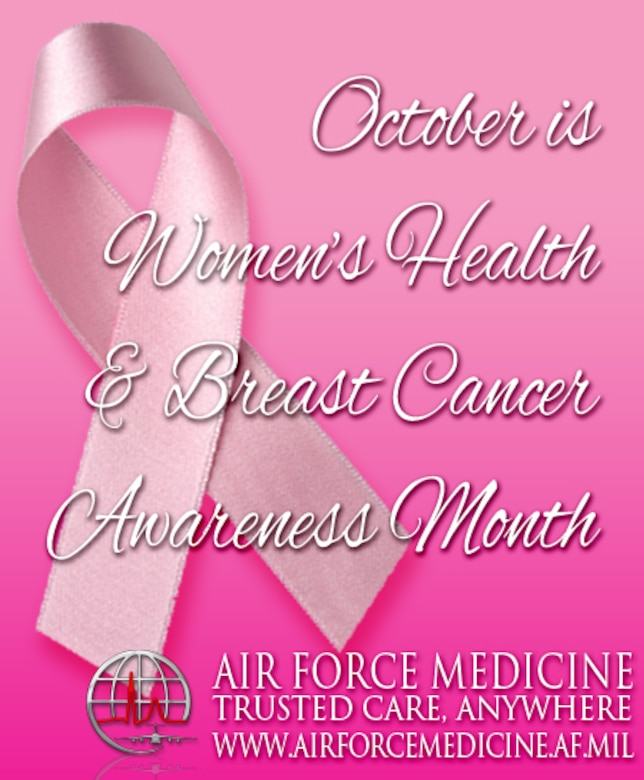 October is Women's Health Month > Air Force Medical ...