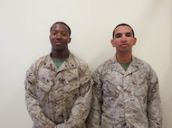 02 Oct 2015 - Coach of the Week Cpl Tiller, Uhuru K. With 2D TRANS SPT BN and High Shooter SSgt Rosales, Fabian I. Shot a 343 with MACS - 2