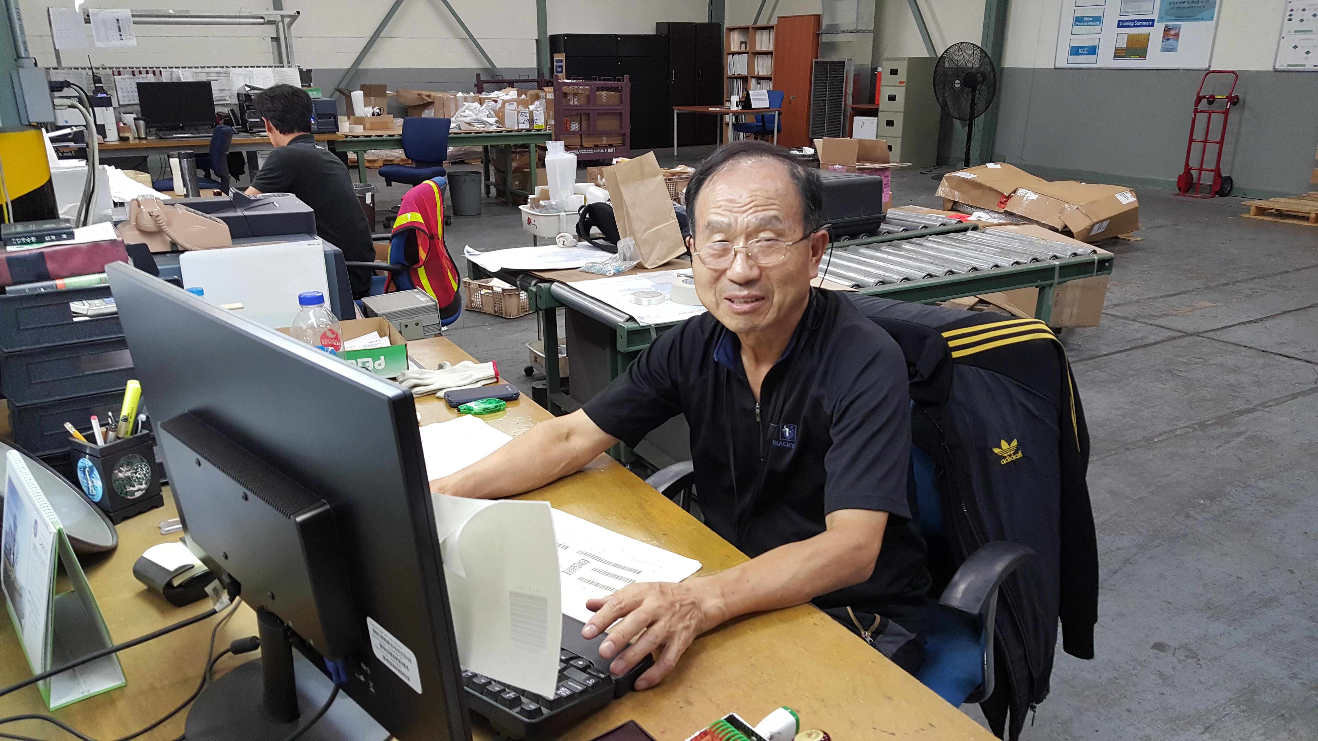 DLA Distribution Korea's So reminisces on almost 43 years of federal
