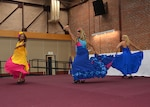 Dancers from the Latin Ballet of Virginia perform during a Hispanic American Heritage Month program Sept. 29, 2015 at the Lotts Conference Center on Defense Supply Center Richmond, Virginia.