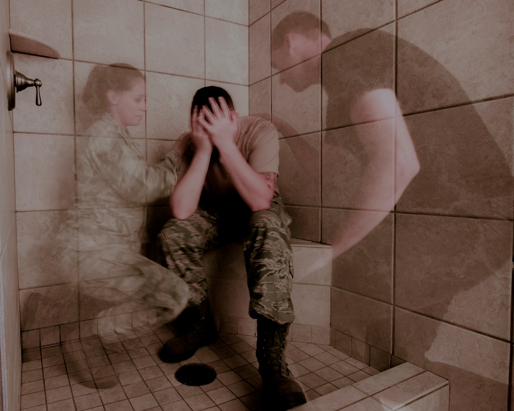 If you are having trouble dealing with issues, think before you act irrationally; there are many people in your life who care about you and will help you out. There are also many resources available to you such as; mental health, base chaplains, and Military OneSource. In order to contact Military OneSource go to www.militaryonesource.mil or call the Military Crisis Line at 1-800-273-8255. (U.S. Air Force photo by Staff Sgt. Brandy L. Grace)
