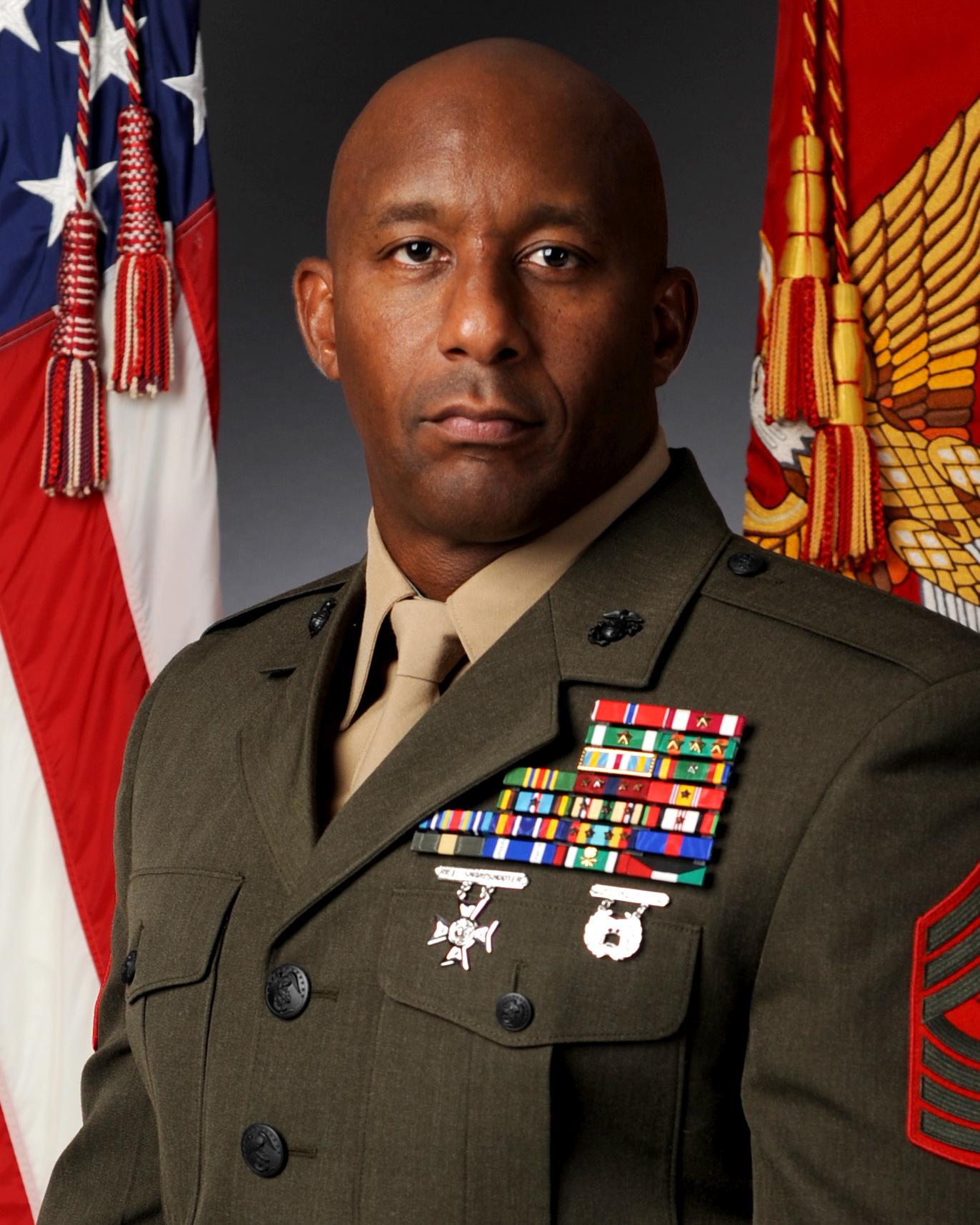 SgtMaj Gerald A. Saunders Jr. > Marine Corps Base Quantico ...