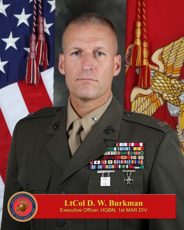 Executive Officer, Headquarters Battalion