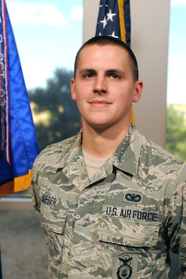 Airman 1st Class Austin Hopper, 50th Security Forces Squadron.