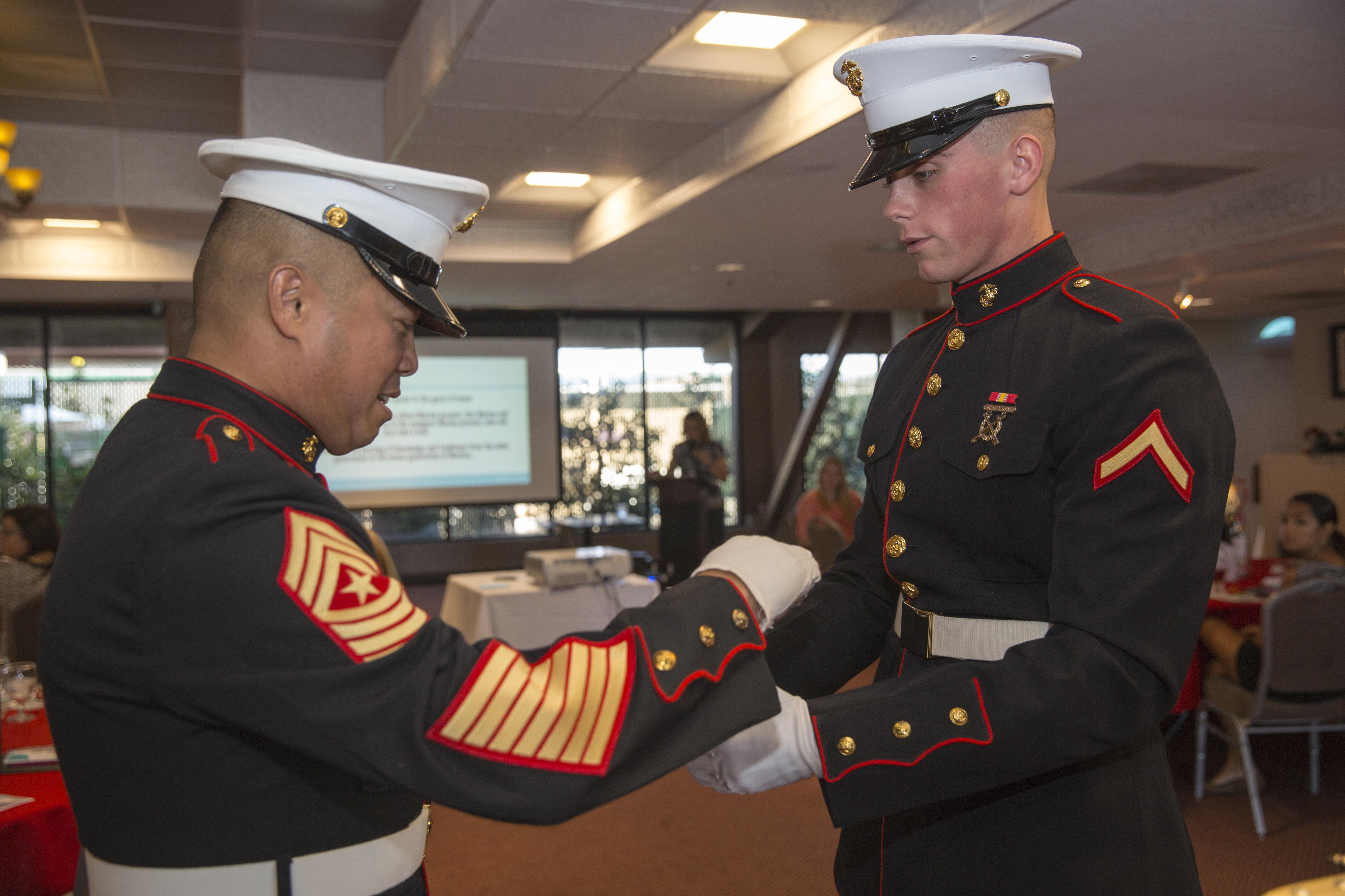 Belle of the Ball 2015 > Marine Corps Air Ground Combat