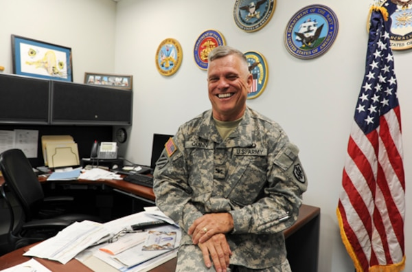 Army Col. Richard Quinn, DLA's command chaplain, will retire June 11 with 34 years of service.