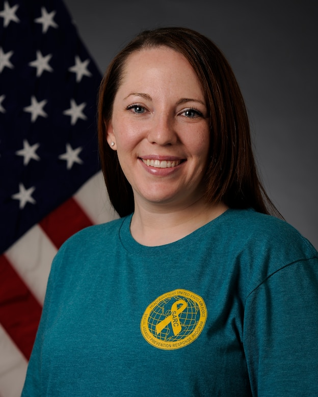 U.S. Air Force Staff Sgt. Rachel Tiu, the 354th Logistics Readiness Squadron noncommissioned office in-charge of inventory, also serves as a Victim Advocate for Eielson Air Force Base, Alaska. Victim Advocates are available throughout the wing to provide support to a victim after a sexual assault. (U.S. Air Force photo by Senior Airman Ashley Nicole Taylor/Released)