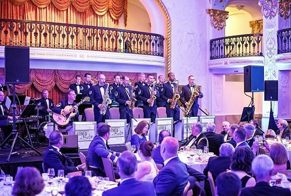 The Airmen of Note performed for the annual Battle of Britain banquet, hosted by top