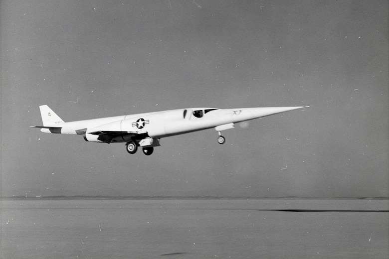Unlike the X-1 and X-2, which were released in mid-air from carrier aircraft, the X-3 operated in a more conventional manner by taking off from the ground. (U.S. Air Force photo)