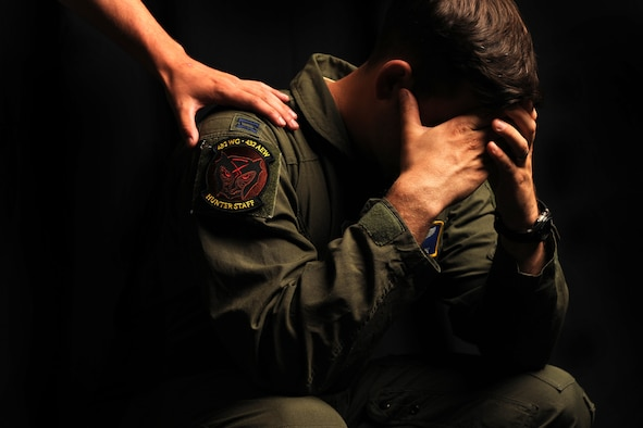 Myth: Everyone in the RPA community suffers from Post-Traumatic Stress Disorder.  Fact: According to a 2014 paper from the United Air Force School of Aerospace Medicine, studies have shown that 4.3 percent of Air Force RPA operators report symptoms of post-traumatic stress disorder. This is lower than the 4 to 18% of PTSD reported among those returning from the battlefield and lower than the projected lifetime risk of PTSD for Americans (8.7%, American Psychiatric Association, 2013). In addition, Creech Air Force Base established a Human Performance Team in 2011 comprised of an operational psychologist, an operational and aerospace physiologist, three flight surgeons and two Religious Support Teams to aid Airmen in dealing with stressors.  (U.S. Air Force photo by Tech. Sgt. Nadine Barclay)