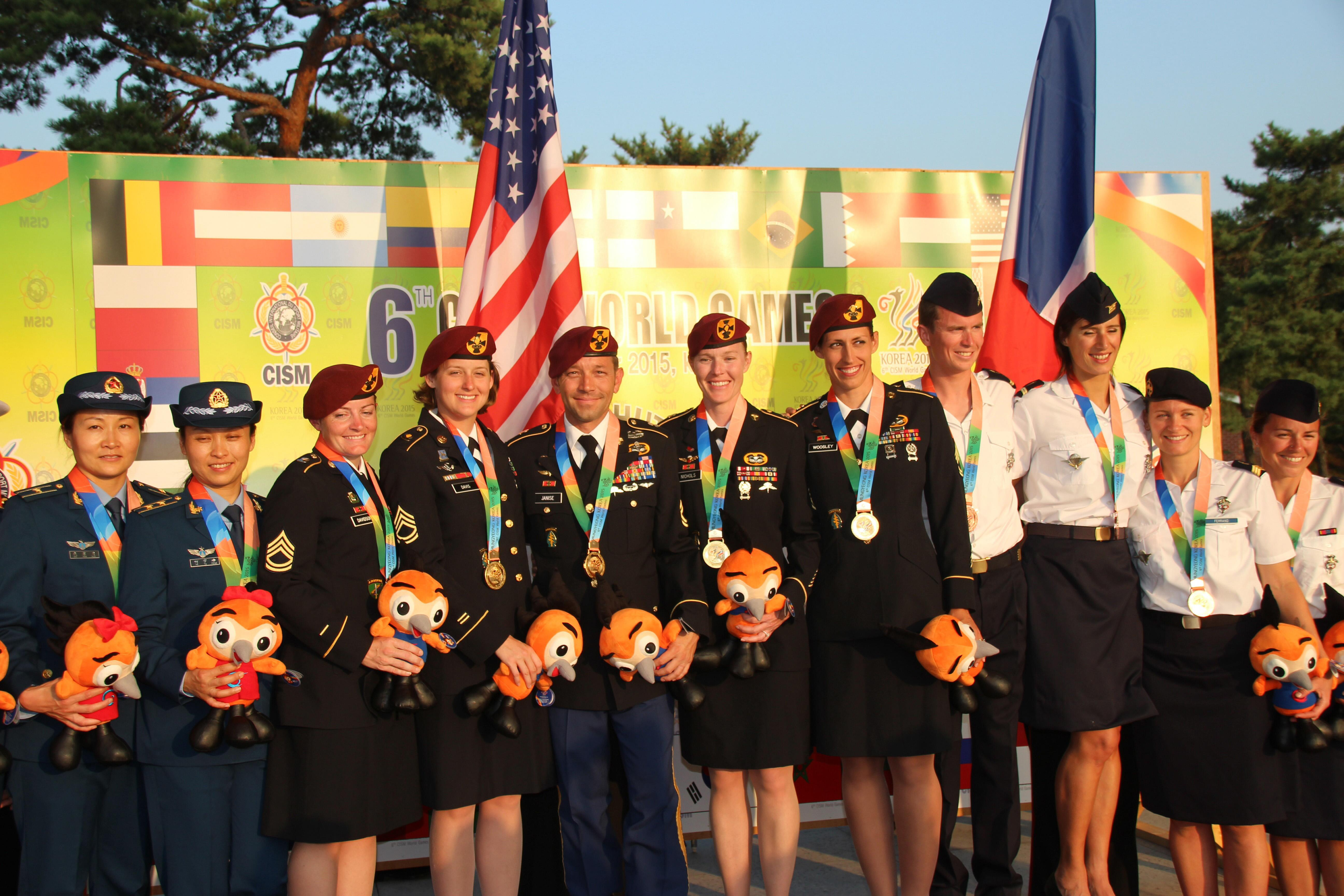Qualifying Standards for CISM Military World Games > Armed