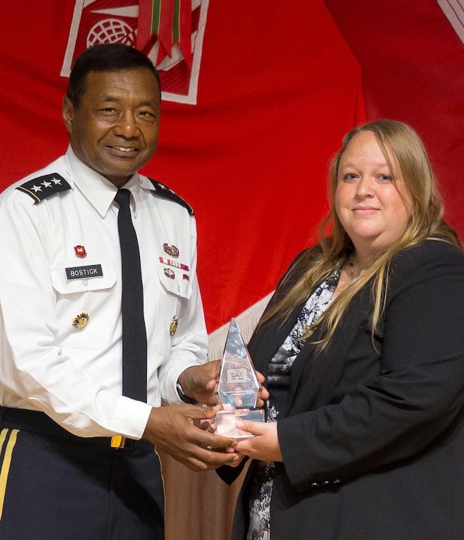 Kim Adkins, Readiness and Contingency Operations, Operations Chief for the Northwestern Division was recently recognized as 2014 Emergency Manager of the Year by the Chief of Engineers, U.S. Army Corps of Engineers Headquarters. 