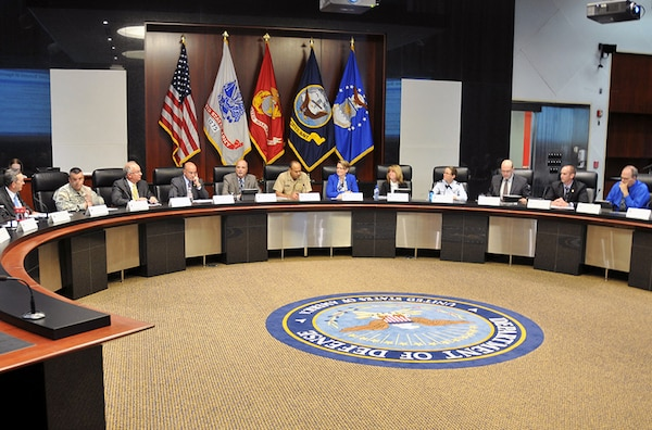 Defense Logistics Agency and Defense Department personnel meet to discuss cost savings and stewardship during the third DLA Cost Summit June 29 at the McNamara Headquarters Complex.