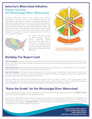 mississippi river basin receives d in first ever report card