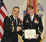 Congratulations are extended to Chief Warrant Officer Four (CW4) Oliver-Wegman for 38 years of service to this great nation. The retirement ceremony on 7 Oct. is officiated by Col. Zarbo, MIRC Deputy Commanding Officer, and is held at the John S. Mosby Army Reserve Center.
