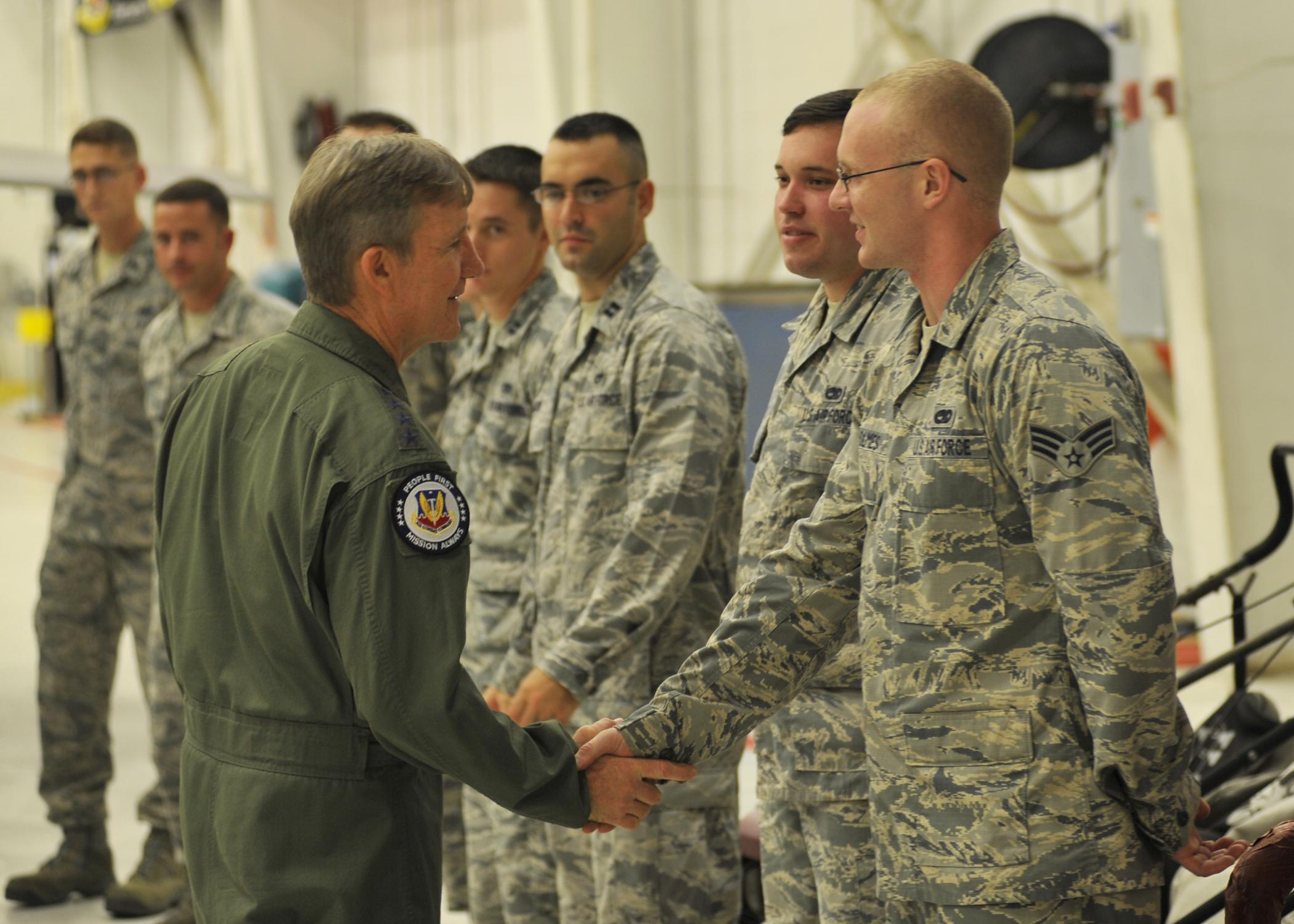 Comacc Praises Rapid Raptor Tyndall Airmen Air Combat Command