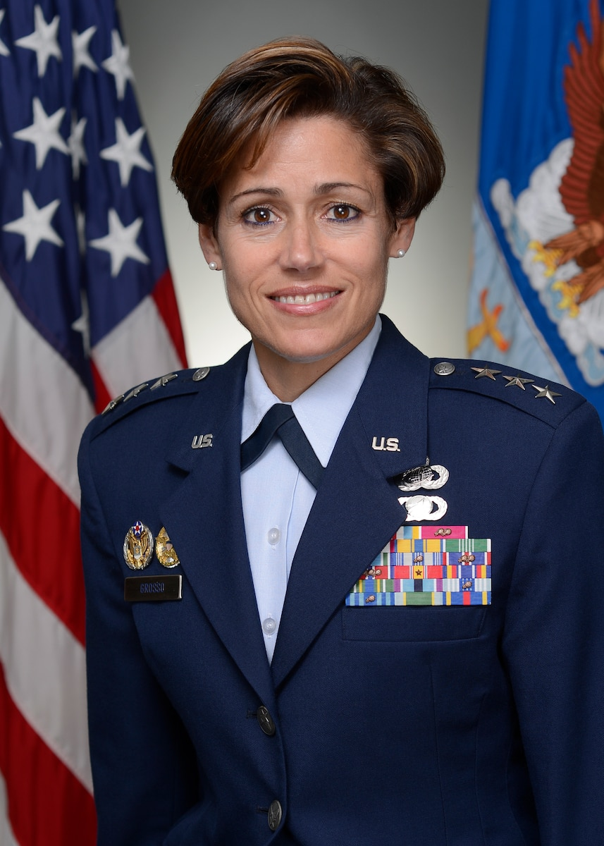 Official Air Force Image: LtGen Gina Grosso Bio Photo