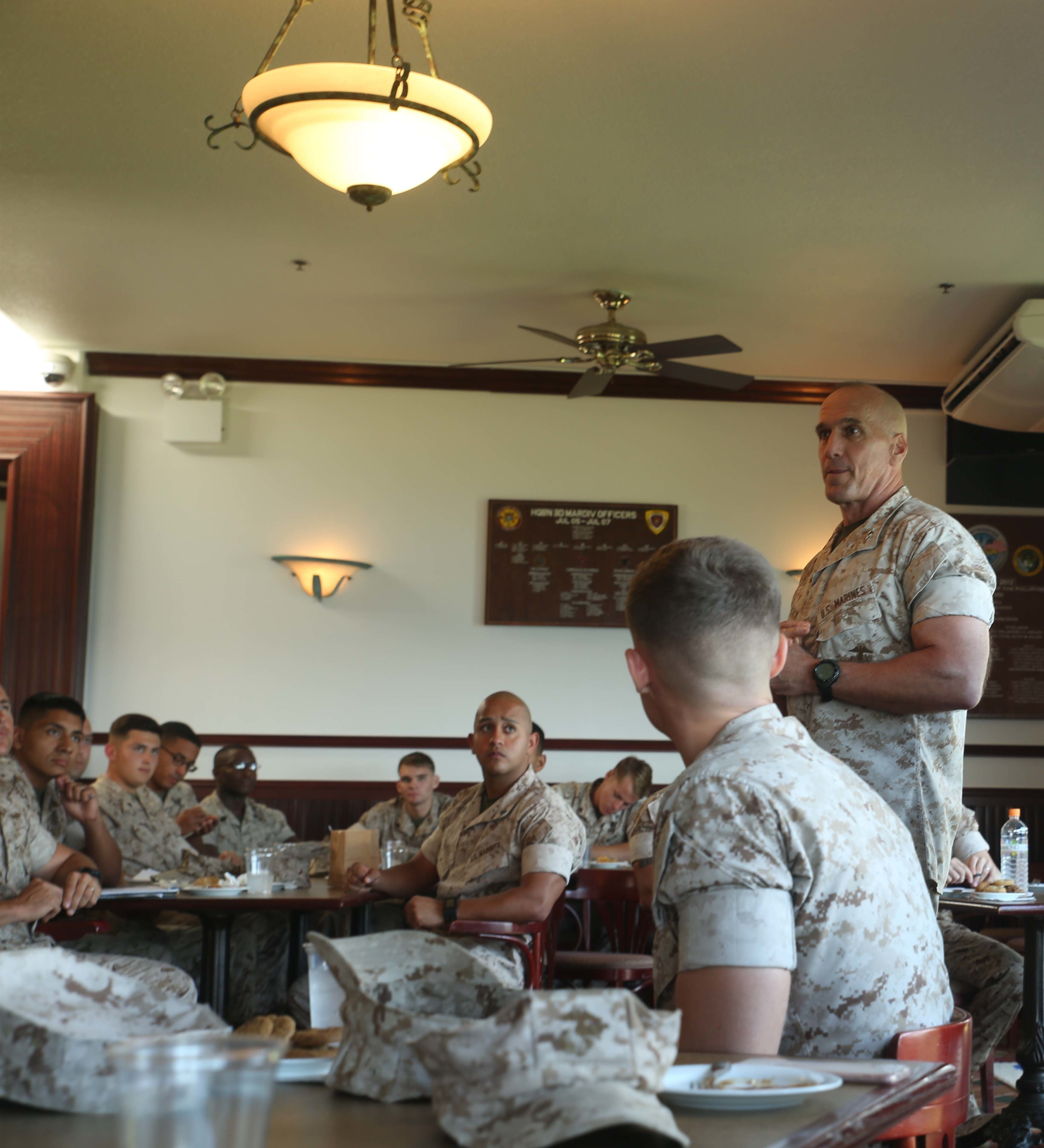 the role of the marine noncommissioned Stuttgart, germany &mdash us european command and nato leaders are providing a greater visibility of the role the noncommissioned officer plays in today's military to partner countries.