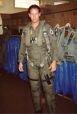 Retired Master Sgt. Derrell White stands proudly in uniform at Homestead Air Force Base during his first Reserve assignment in the late 1980s. Courtesy photo.