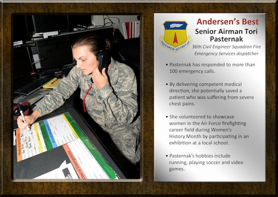 Team Andersen's Best recognizes Airmen and civilian professionals for outstanding contributions to mission and team success.